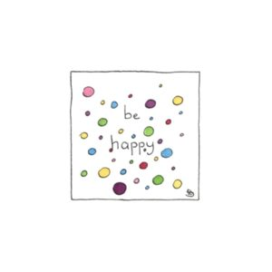 Karte Herzenskunst Be Happy