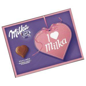 Milka I Love Milka Erdbeer