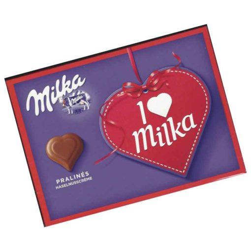Milka I Love Milka Hasselnusscreme