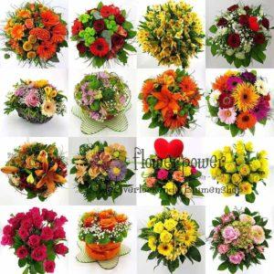 Webshop Übersicht Blumengeschaeft