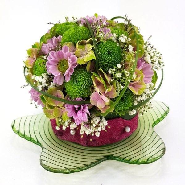 Blütenmuffin rossa