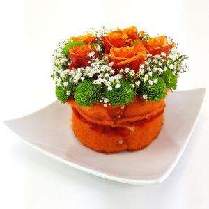 Rosenmuffin Orange Teller 2