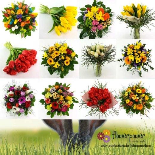 Tulpen aus Graz floristisch kombiniert