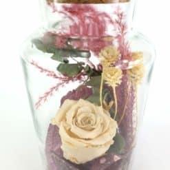 Apothekerglas Creme Detail