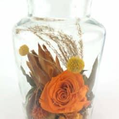 Apothekerglas Orange Detail