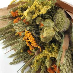 Trockenblumen Sonnenblumen Detail