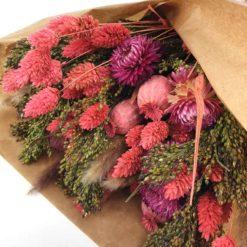 Trockenblumen Pink Detail