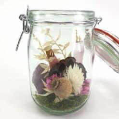 Wunschglas Rosa Braun Detail2