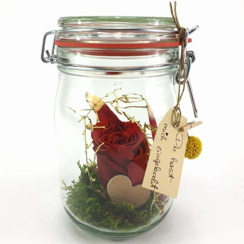 Einkochglas Everlasting Love