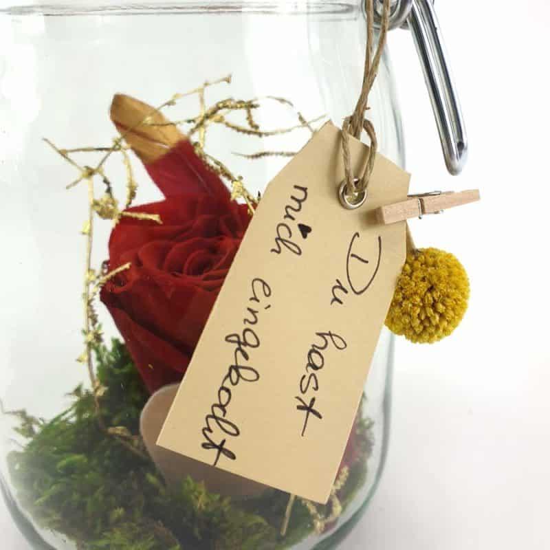 Wunschglas Rot Detail2