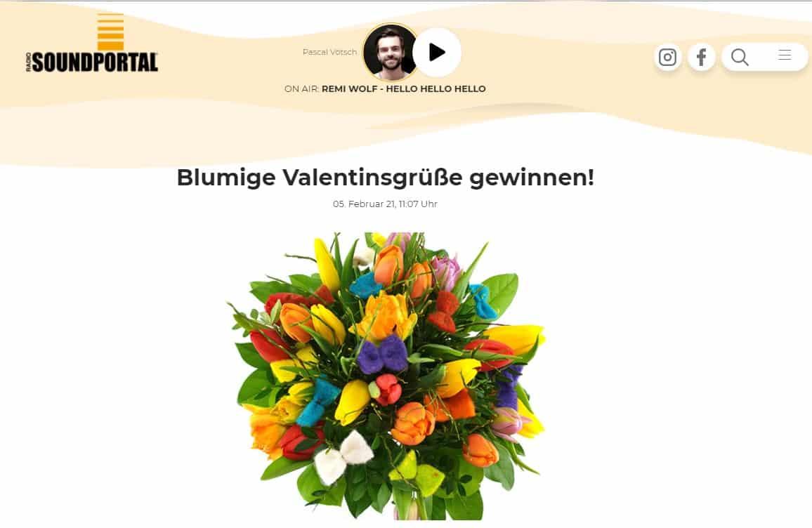 Soundportal Gewinnspiel zum Valentinstag